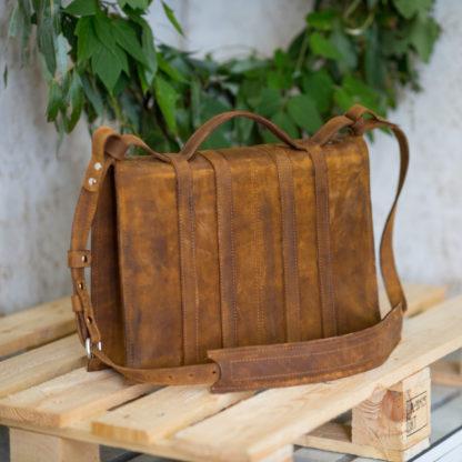 кожаный мужской женский потертый состаренный портфель, купить портфель кожа, mrs.bag