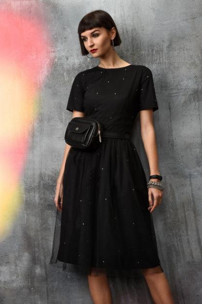 Черная женская кожаная маленькая поясная сумка на молнии ремень купить, mrsbag