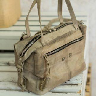 Повседневная большая женская кожаная сумка из натуральной кожи купить