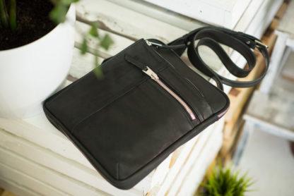 мужская кожаная сумка планшет из натуральной кожи купить