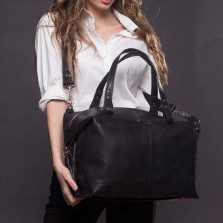 20.45 Мужская женская большая сумка натуральная кожа купить