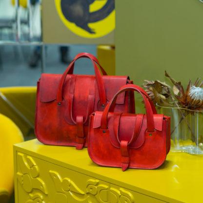 кожаная красная сумка, MYNA в красном, сумка натуральная кожа купить, Mrs.Bag