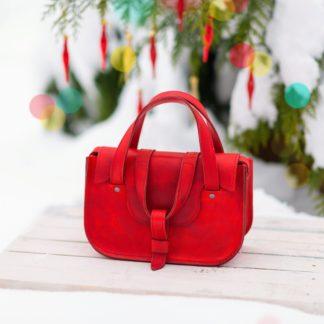 Кожаная сумка MYNA-S