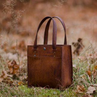 Винтажный МИНИ кожаная женская сумка купить