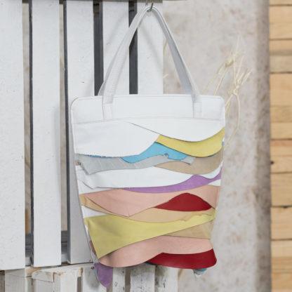 кожаная сумка-пакет KYLA, женская сумка из натуральной кожи, купить женскую сумку-пакет, Mrs.Bag