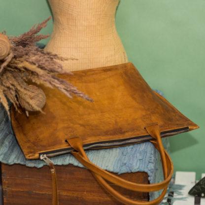 купить сумка-шоппер, кожаный шоппер, женская кожаная сумка, большая сумка, яркая сумка из кожи