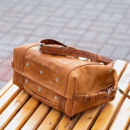 купить рыжую коньячную сумку, матовая кожа, мужская кожаная сумка, женская кожаная сумка mrsbag