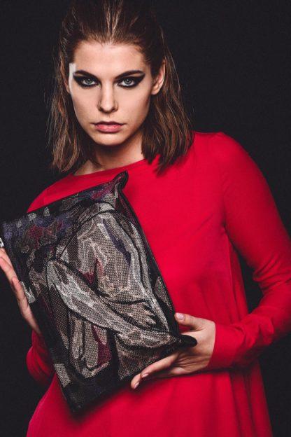 купить женский кожаный клатч луна mrs.bag