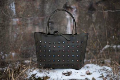 шоппер GORX, купить сумка-шоппер, кожаный шоппер, женская кожаная сумка, большая сумка кожа, яркая сумка из кожи, mrs.bag
