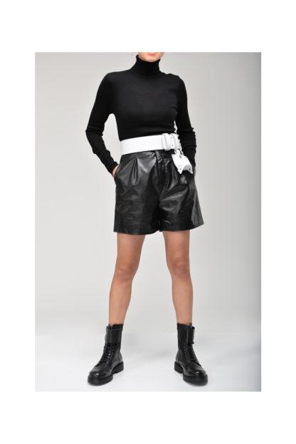 пояс корсет ремень кожаный черный шорты mrsbag