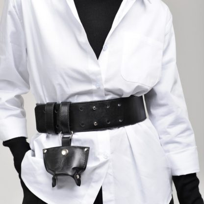 пояс корсет ремень кожаный черный белый mrsbag